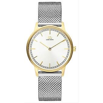 Danish Design Tildos Vigelso Small Watch-Silver/Gold
