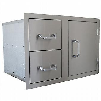 Beefeater Signature Build-in Double Drawer & Single Door