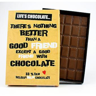 Funny boxed choklad citat gåva för män kvinnor bästa vän gratulationskort för honom eller henne LC101