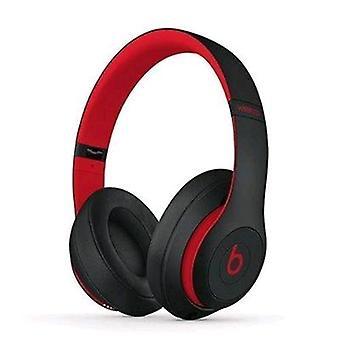 Beats studio3 wireless headphones black red
