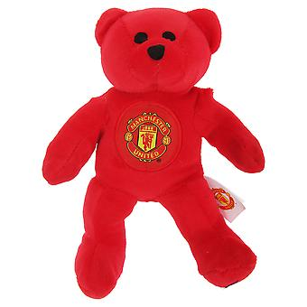Manchester United FC Official Mini Plush Football Club Teddy Bear