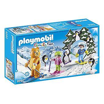 PLAYMOBIL Playmobil famille école de Ski