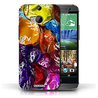 STUFF4 Case/Cover voor HTC One/1 M8/rozen/snoep & Candy
