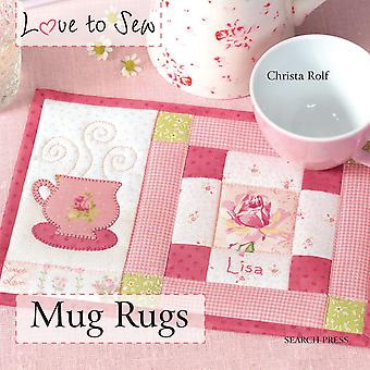 Search Press Books Mug Rugs Sp 89268
