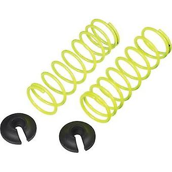 Reely 1:10 Shock absorber tuning spring Soft Neon yellow 50.5 mm 2 pc(s)
