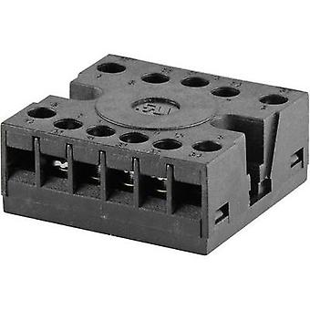 Relay socket 1 pc(s) tele TVC11 Compatible with series: Tele FSM10 series