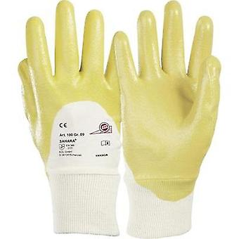 KCL 100 Glove Sahara 100% cotton jersey with special nitrile coating Size 7