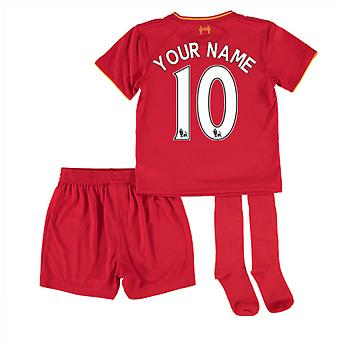 2016-17 Liverpool Home Mini Kit (Your Name)