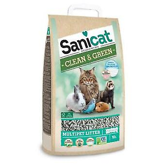Sanicat Sanicat Clean & Green Wood (Cats , Grooming & Wellbeing , Cat Litter)