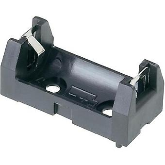 1/2 AA-cells Battery Holder With L for 1 1/2 AA, 34.5 mm x 16 mm x 15 mm