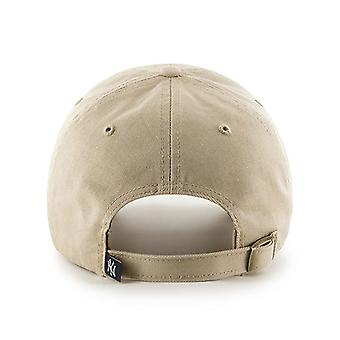 47 Brand MLB New York Yankees Clean Up Cap - Khaki
