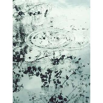 Wellen von der Regen II Poster Kunstdruck von Amy Melious