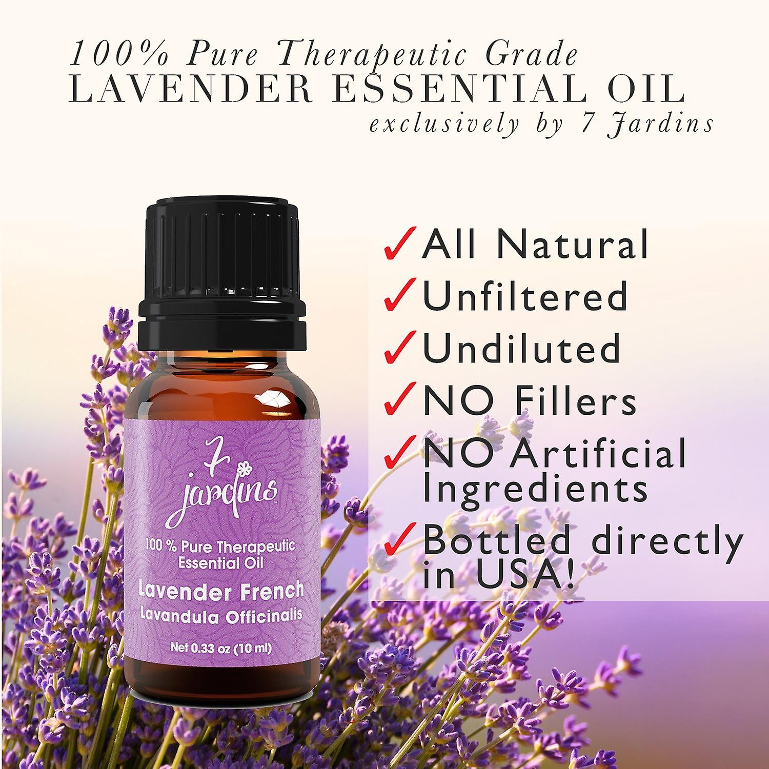 French Lavender Essential Oil-Lavandula Officinalis-100% Pure France