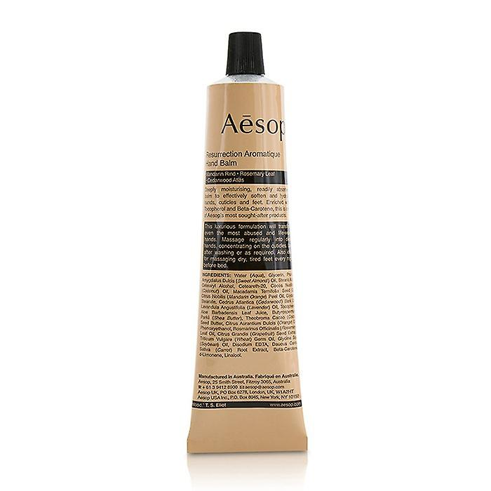 Aesop Resurrection Aromatique Hand Balm (Tube) 75ml/2.58oz