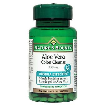 Nature's Bounty Aloe Vera Colon Cleanse 60 Tablets 330mg Coated