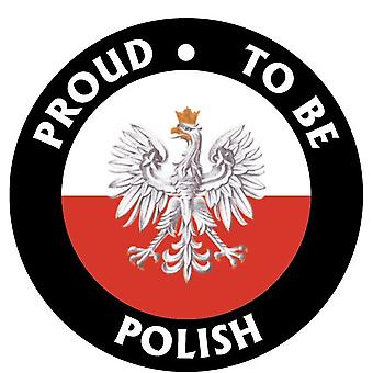 Proud To Be Polish Car Air Freshener