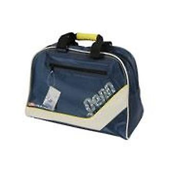 Canvas Blue Holdall Sports Gym Travel Flight Hand Bag Lightweight USA Design Unisex