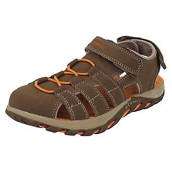Boys Merrell Closed Toe Sandals Waterpro Web
