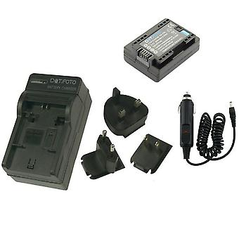 Dot.Foto Canon BP-709 - 3.6v/895mAh Battery and Battery Travel Charger