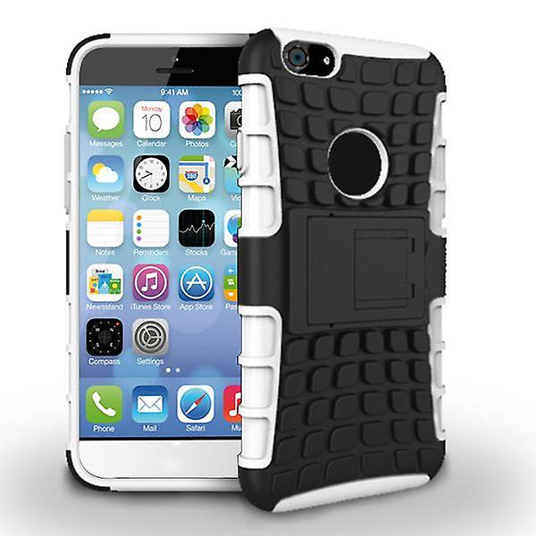 Hybrid case 2 piece robot white for Apple iPhone 6 plus 5.5