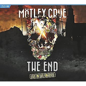 Motley Crue - fine: Live in importazione USA Los Angeles [Blu-ray]