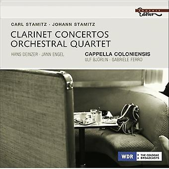Stamitz/Stamitz - Clarinet Concertos [CD] USA import