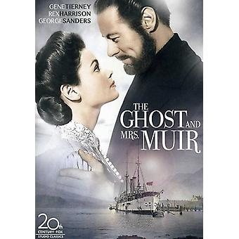Ghost & Mrs. Muir the [DVD] USA import