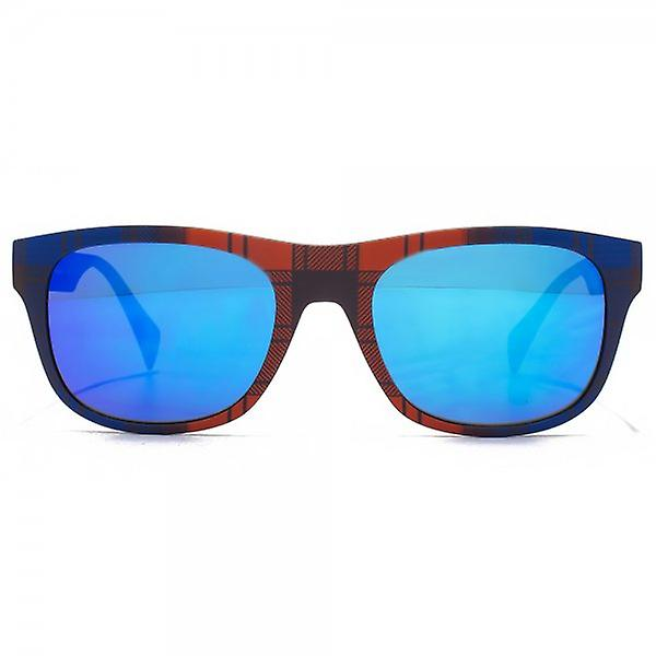 EYEYE By Italia Independent Retro Style Sunglasses In Tartan Red