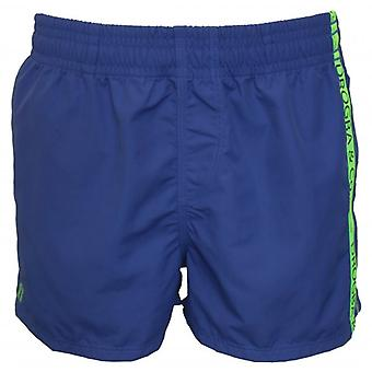 Drogba & Co. by HOM Beach Boxer Shorts, Blue