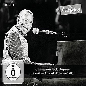 Champion Jack Dupree - Live at Rockpalast: Cologne 1980 [CD] USA import