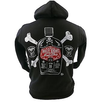 Billy Eight - SUPER CHARGED - Mens Hoodie - Black