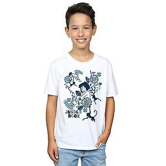 Disney gutter på Jugle Bestill Mowgli Tale t-skjorte