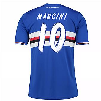 2016 / 17 Sampdoria Home Shirt (Mancini 10)