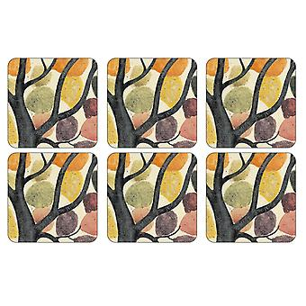 Pimpernel Dancing Branches Coasters, Set of 6