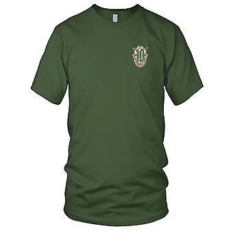 US Army - 10th Special Forces Group Crest Desert Green 10 Embroidered Patch - Kids T Shirt