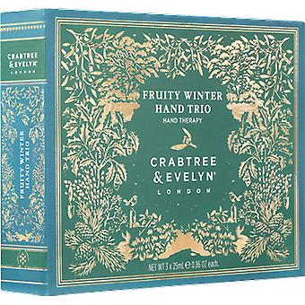 Crabtree & Evelyn Fruity Winter Hand Trio