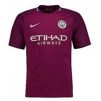 2017-2018 Man City Away Nike Football Shirt (Kids)