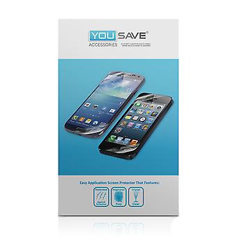 Yousave Accessories Huawei Ascend P6 Screen Protectors X 5