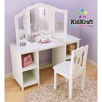 KidKraft-luxe coiffeuse et chaise