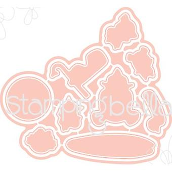 Stamping Bella The Littles Cut It Out Dies-Snorkle CIO509