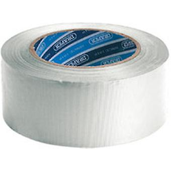 Draper 49431 30M x 50mm White Duct Tape Roll