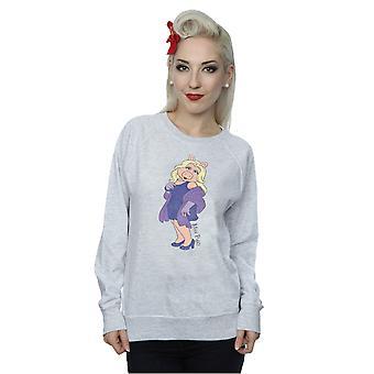Disney Frauen die Muppets Classic Miss Piggy Sweatshirt
