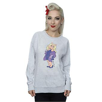 Disney Women's The Muppets Classic Miss Piggy Sweatshirt