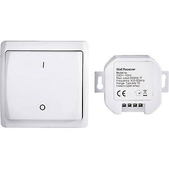 RSL Wireless switch set Recess-mount, Surface-mount Switching capacity (max.) 2000 W Max. range (open field) 70 m
