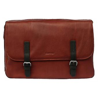 Cortez Messenger Bag - Cognac Brown