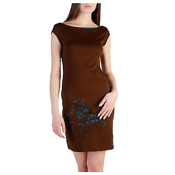 Desigual Women Dresses Brown