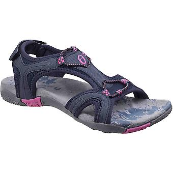 Cotswold Womens/Ladies Cerney Strappy Adjustable Casual Summer Sandals