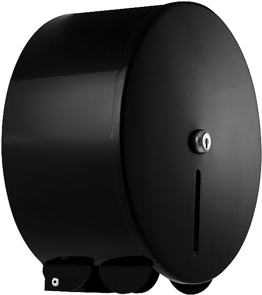 Pro Range Black Mini Jumbo 10 Toilet Roll Dispenser