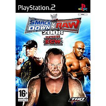 SmackDown Vs Raw 2008 (PS2)