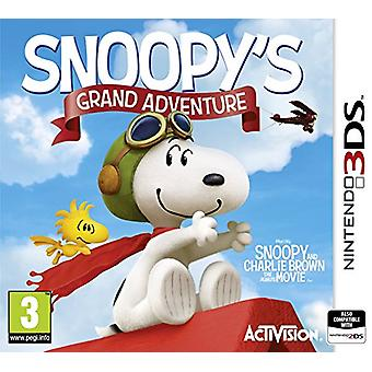 Peanuts Movie Snoopys Grand Adventure (Nintendo 3DS)